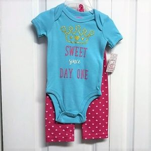 Swiggles 3 Piece Outfit Size 3M / 6M New